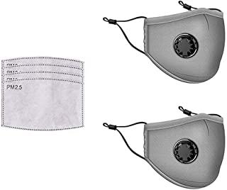 Reusable PM2.5 Mouth Dust Respirator Anti Haze Face 100% Cotton Unisex